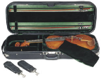 """Concord Viola Case, Concord Luxe Viola Oblong case, Suspension Adjutable from 15"" up to 17"""