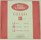 Red Label Cello Strings