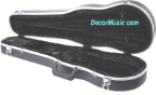 ABS shaped violin case, Free carry bag