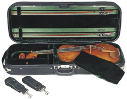 """Concord Viola Case, Concord Luxe Viola Oblong case, Suspension Adjutable from 15"" up to 17"" (SKU: CA2701)"