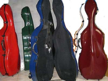 Fiberglass Cello Case (SKU: CCg)