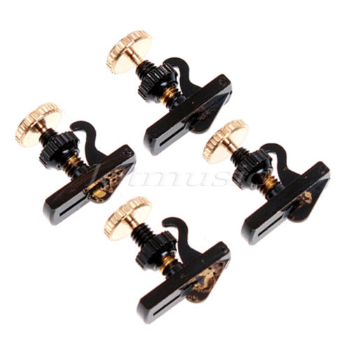 Violin tuner string adjuster Black (SKU: TnN4b)