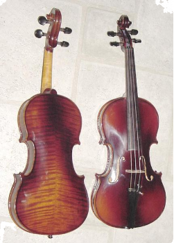 Oil Varnished Romania Violin (SKU: VN500)